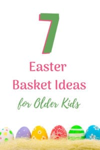 easter basket ideas older kids eggs and easter grass