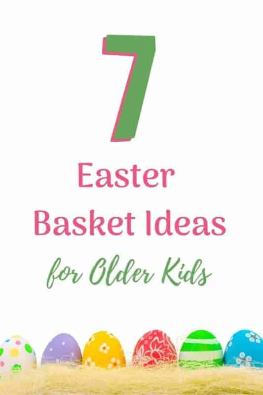 easter basket ideas older kids eggs and easter grass