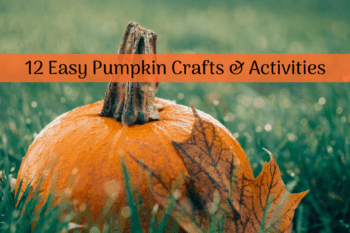 12 Simple and Fun Pumpkin Crafts and Activities