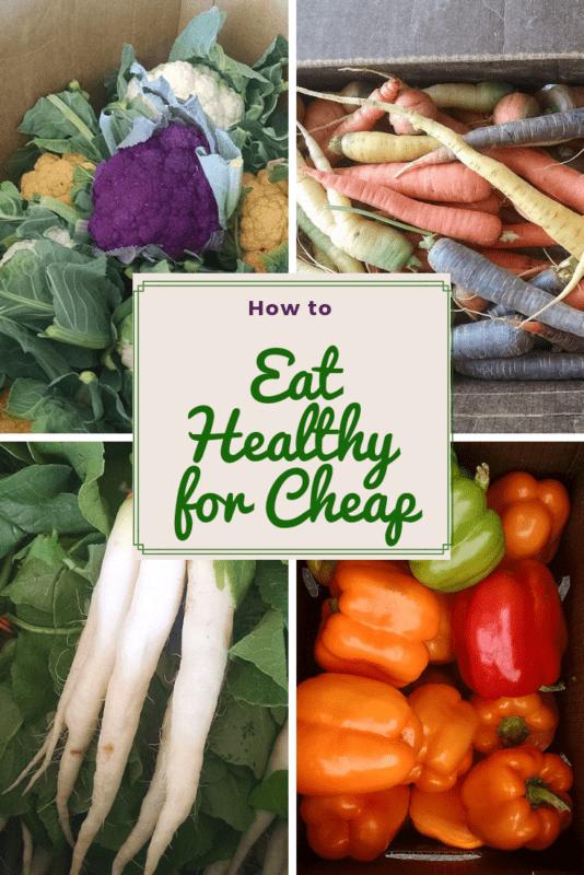 eat cheap healthy