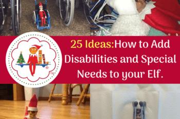 elf ideas disabilities special needs
