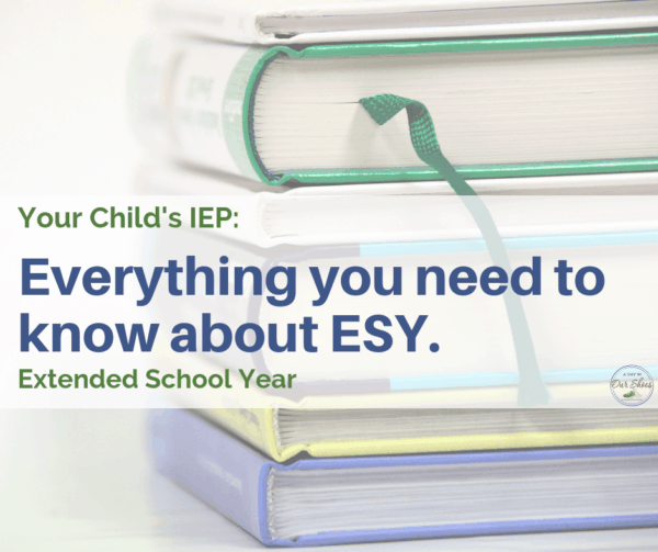 esy extended school year