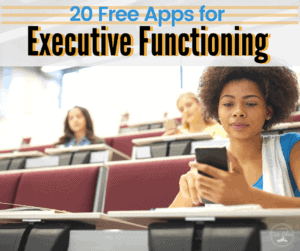 executive functioning apps
