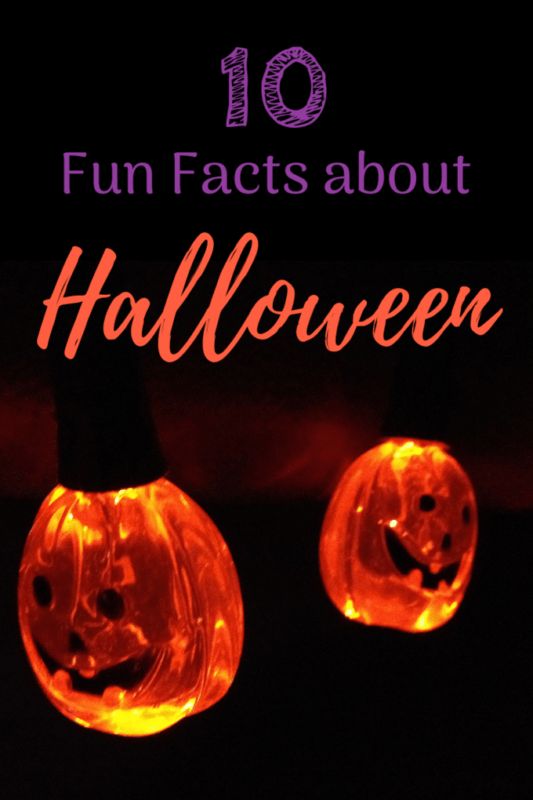 facts about halloween pumpkin face string lights