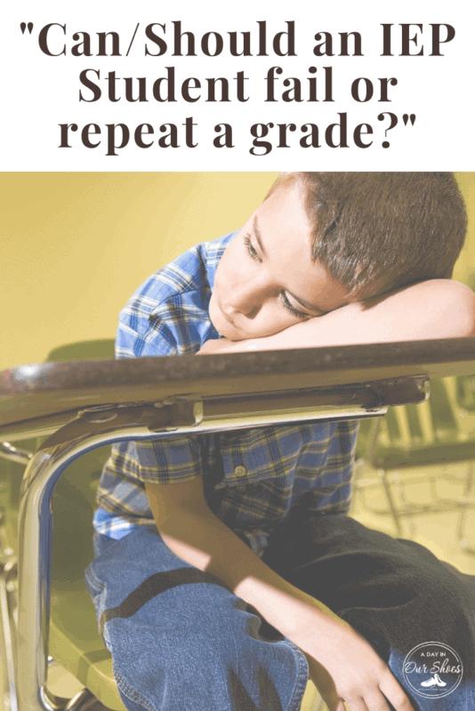 failing a grade