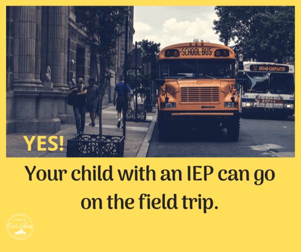 field trips disabilities special needs