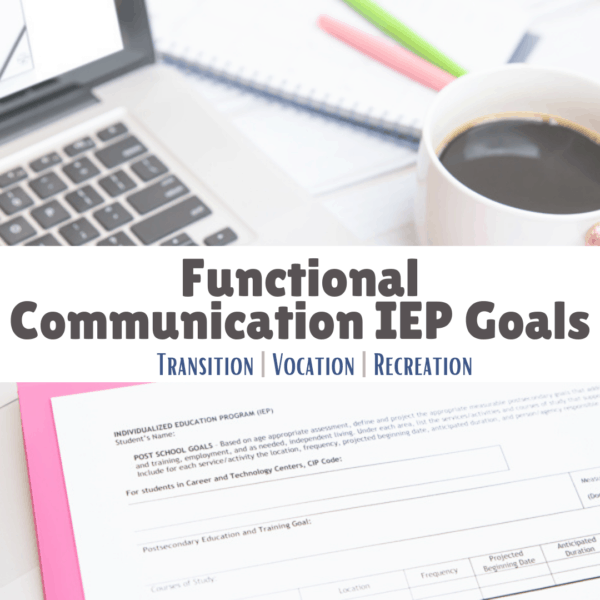 functional communication IEP goals
