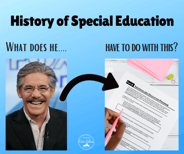 How Geraldo Rivera was Important in the History of Special Education.