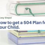 get a 504 plan