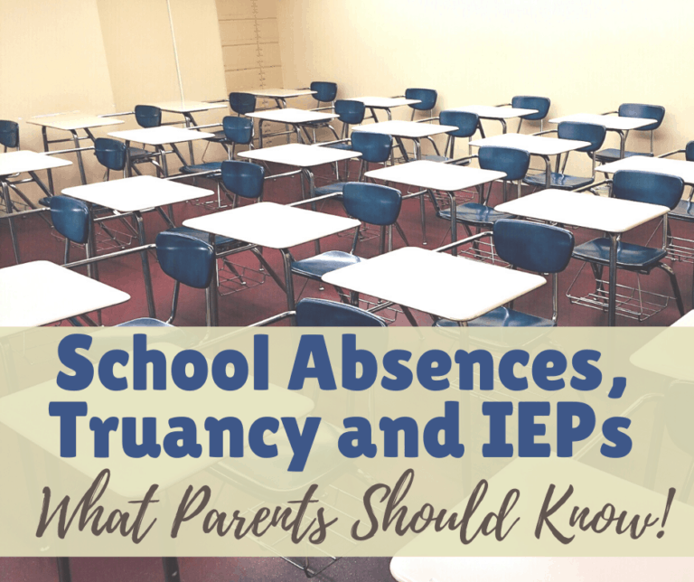 How to Prevent and Get Out of Truancy Charges | IEP | 504