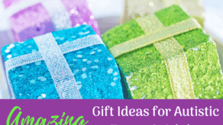 25 Amazing Gift Ideas for Teens and Adults with Autism or other disabilities.