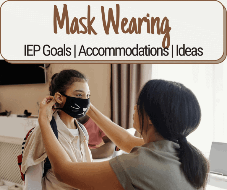 My child won't wear a mask | School and IEP Accommodations | Ideas