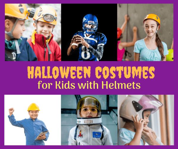 halloween costume with a helmet