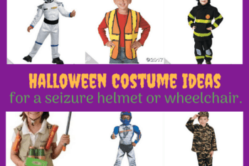 17 Halloween Costumes Ideas for a Seizure Helmet or Wheelchair.