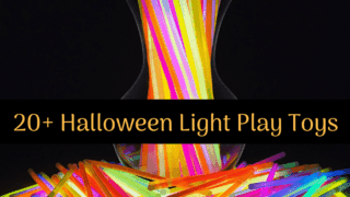 20+ {cheap!} Halloween Light Play Toys