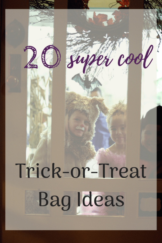 Trick Or Treat Bags 20 Super Cool Cute And Spooky Ideas
