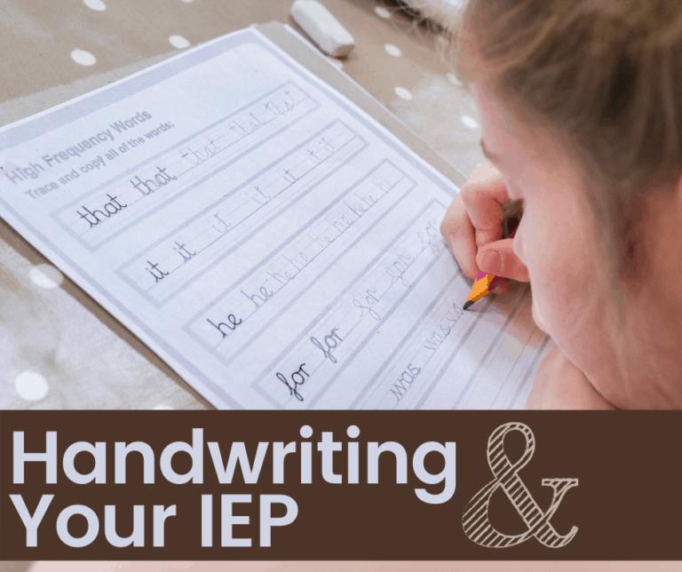 30 IEP Goals for Handwriting | OT Goals | Fine Motor | Fluency