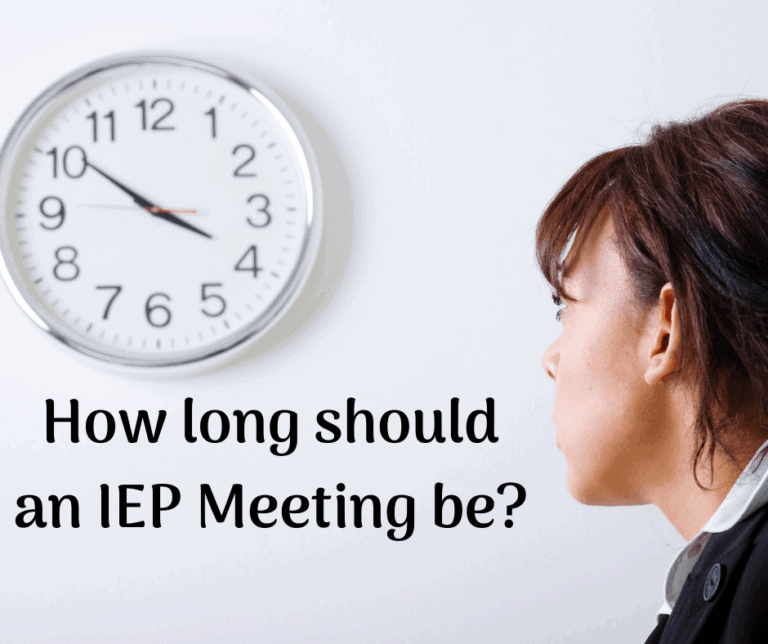 How Long should an IEP Meeting be?