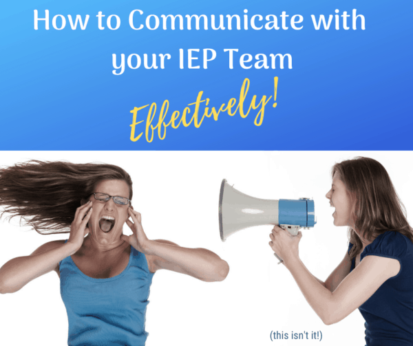 A woman receiving too much information because she does not use effective communication with her iep team