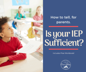 how to fix your iep