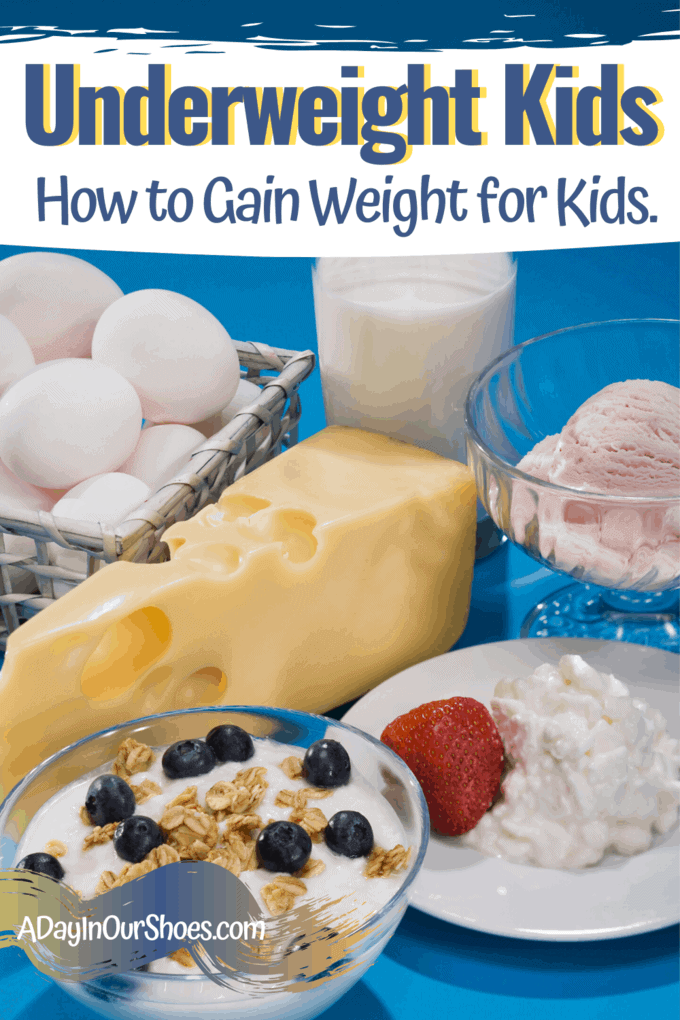 how to gain weight for kids