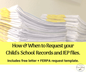 how to get school records