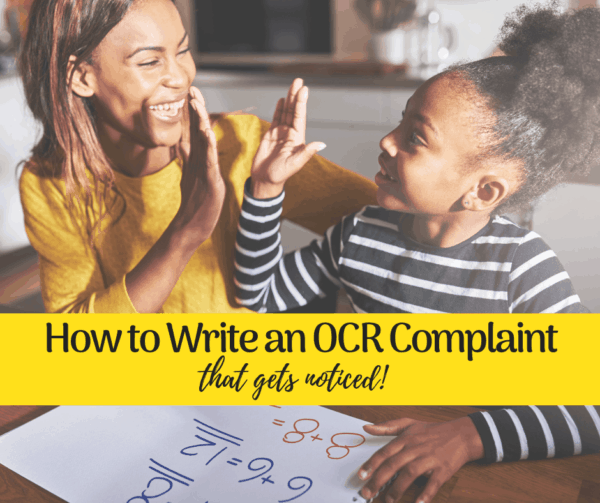 how to write an OCR complaint