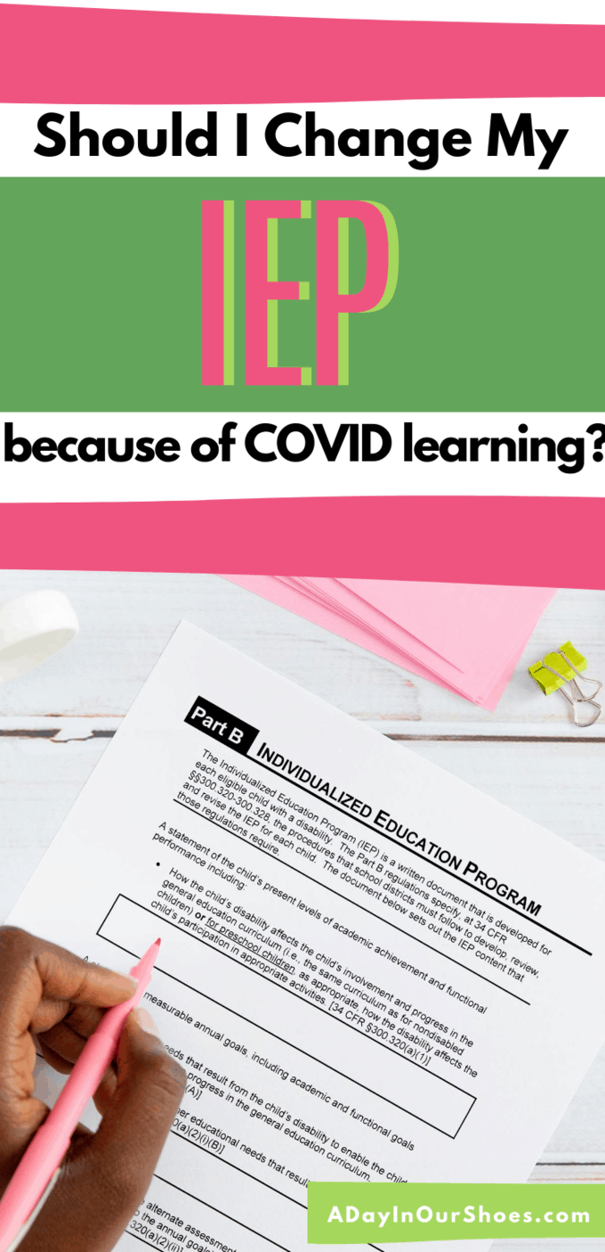 iep covid learning