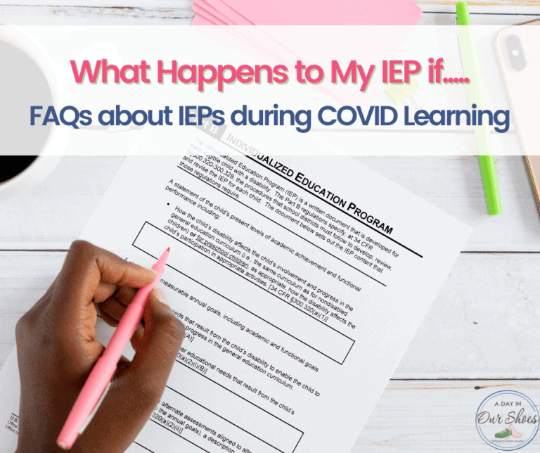 What will happen to my IEP this Fall, if I choose to…..