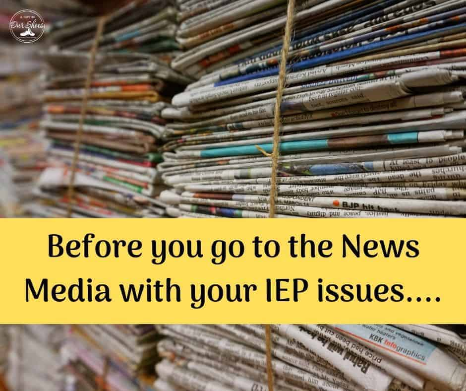 iep issues to news media