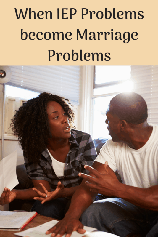 iep marriage problem