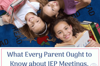 girls in circle happy what parents should know about IEP meetings