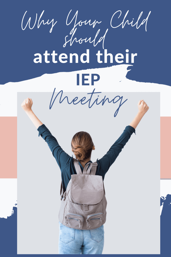 iep meeting child attend