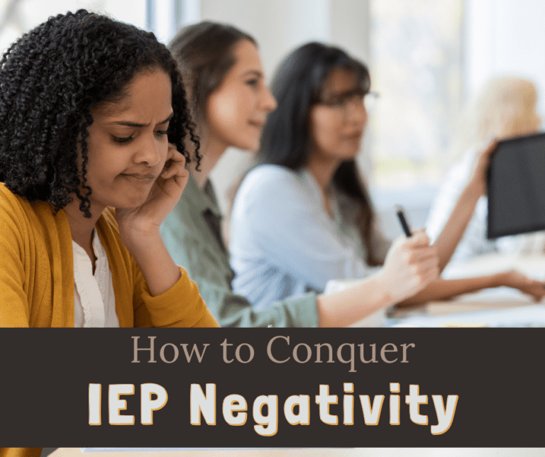 How to Stay Positive when you Hate IEP Meetings | IEP Gossip