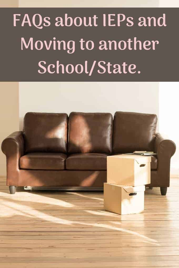 does an iep transfer when we move