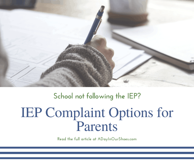 Got IEP Violations? | State and Federal Complaint Options for Parents.