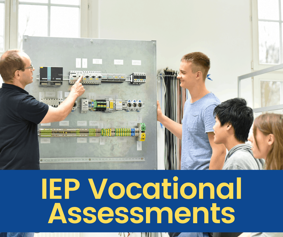 students being exposed to vocational opportunities for their IEP transition