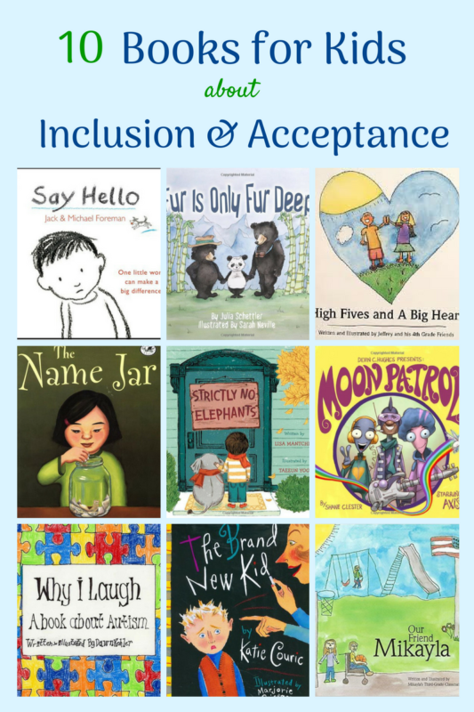 inclusion acceptance books