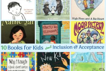 inclusion acceptance books kids