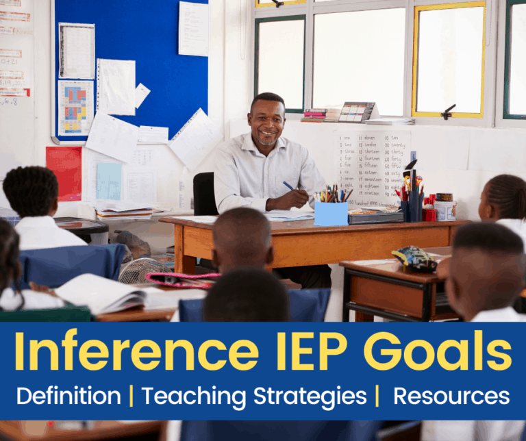 Inference for Kids | Definition |  IEP Goals and Objectives | Resources