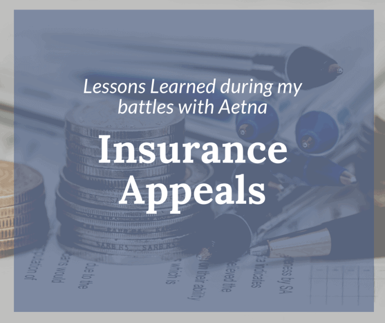 {Insurance Appeals} How I forced Aetna to pay for my son's brain surgery.