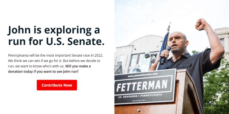 Interview: John Fetterman for US Senate