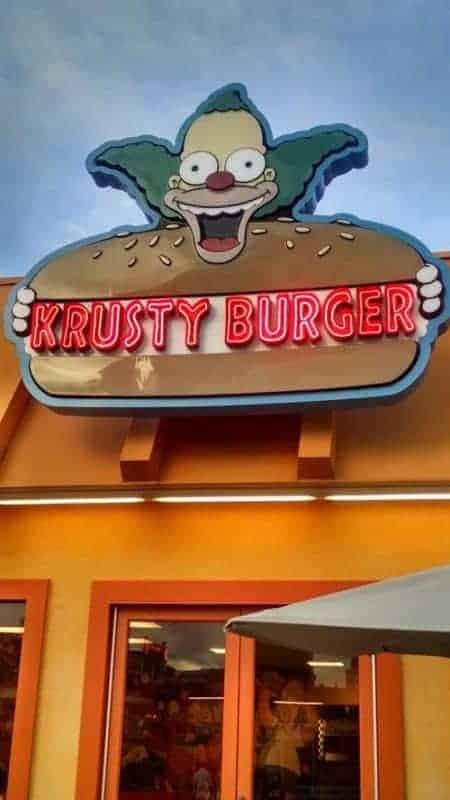 krusty burger restaurant