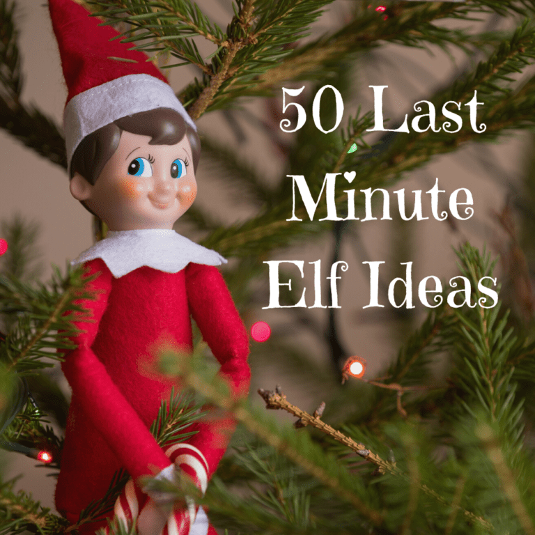 50 Last Minute Elf on the Shelf Ideas | Easy | No Props | 2021