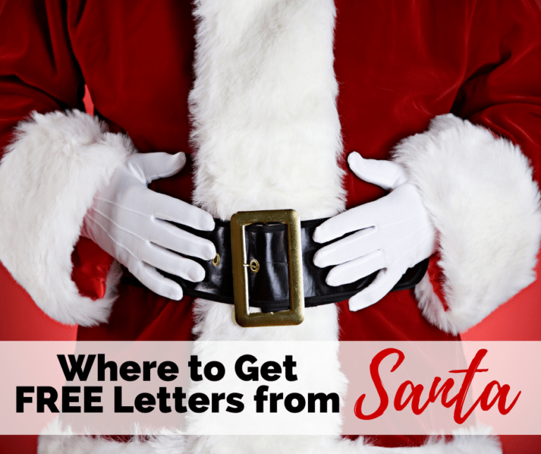 Where to Get Free Letters from Santa | 2020