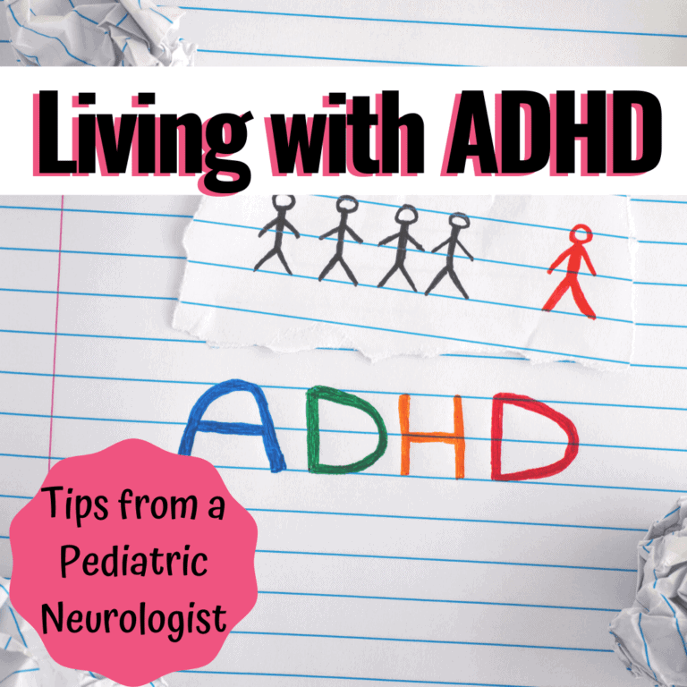 Tips for Living with ADHD | Pediatric Neurologist Dr. Sarah Cheyette