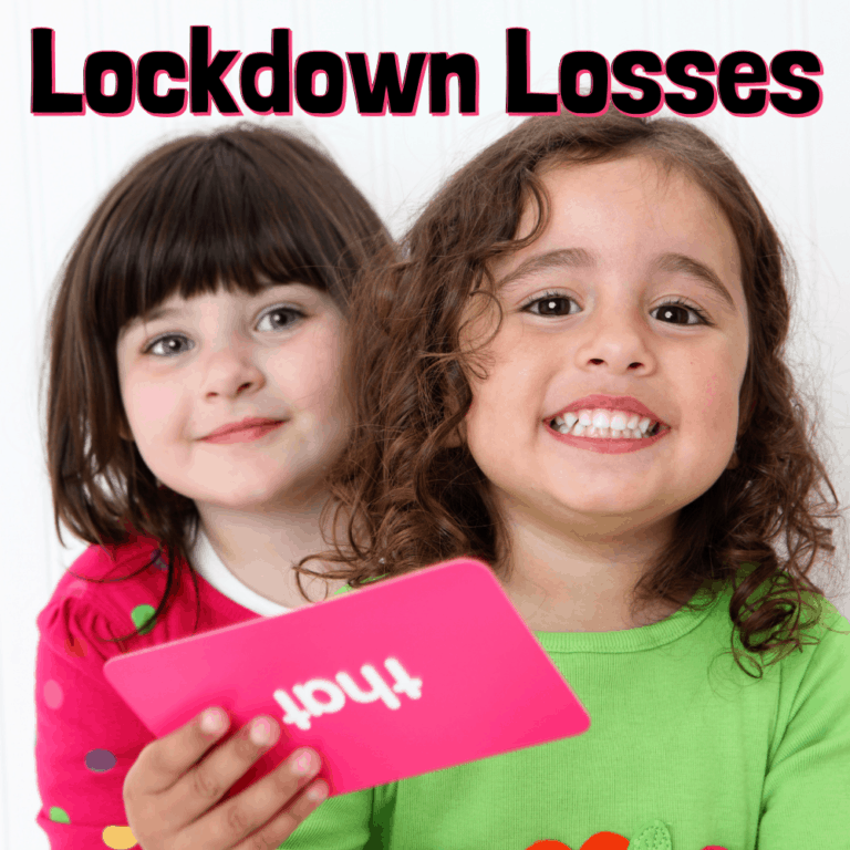 Lockdown Losses | Recovering Lost Speech and Language Skills