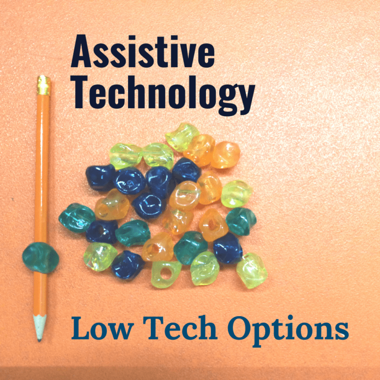 Low Tech Assistive Technology | Examples | Communication | Ideas | Reading and Writing