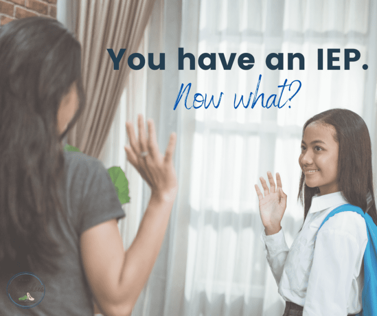 You have an IEP. Now what?