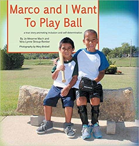 marco and I want to play ball book cover